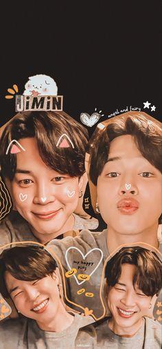 Bts Jimin, Wallpapers Kpop, Namjoon, Taehyung, Jimi Bts, Daniel Padilla, Kpop Posters, Jimin Wallpaper, Happy Pills