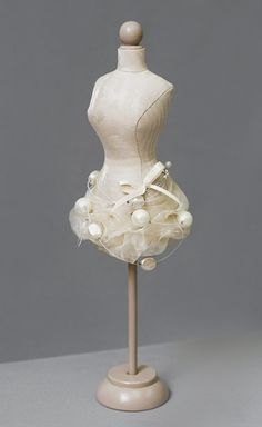 Mannequin Madness.com sells miniature dress forms so you can ...