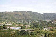 Viaducto río Portos (LAV Galicia)