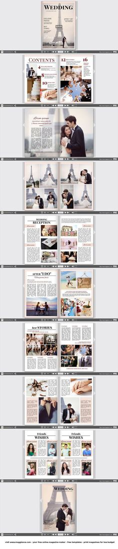 49 best Hochzeitszeitung images on Pinterest | 50th wedding ...