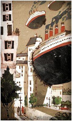 Lee White Illustrations -- Love them all!