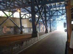 Under the bridge - east side