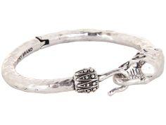 Lucky Brand Bombay Fillagree Elephant Cuff (Silver) Bracelet HRSsCNhM2W