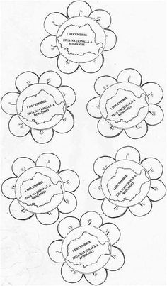 Diy And Crafts, Crafts For Kids, Arts And Crafts, 1 Decembrie, Home Schooling, Kindergarten Worksheets, Adult Coloring Pages, Romania, Kids Learning