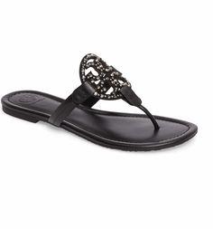 d11f1bf09 Main Image - Tory Burch Miller Embellished Sandal (Women) Sandals For Sale