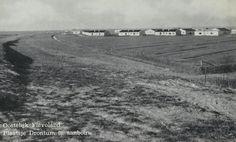 De pioniers in Dronten omstreeks 1950