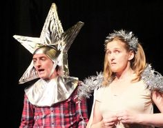 A star and an angel. Christmas is coming as Little Theatre Company rehearses Tim Firth's Flint Street Nativity - to be performed at The Brewhouse Arts Centre, Burton-on-Trent Nov 9-14, 2016. Find out more at http://www.littl-theatre.co.uk #nativity #angel #star #theatre #play #drama