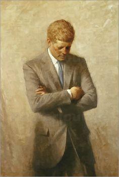 Porträt von John F. Kennedy. Bilder: Poster von John Parrot bei Posterlounge.de