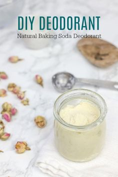 DIY deodorant is a super simple and effect natural homemade deodorant made from only three ingredients. This baking soda deodorant is really easy to make and will leave you odor-free all day. #ablossominglife #diydeodorant #naturakdeodorant #HomemadeMoisturizer Diy Deodorant, Baking Soda Deodorant, Deodorant Recipes, Baking Soda Shampoo, Natural Deodorant, Baking Soda Water, Baking Soda Vinegar, Baking Soda Uses, Cider Vinegar