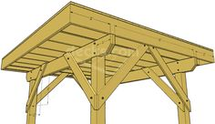 You may need to build a free standing deck if you can't attach a ledger board to the house.  Learn how to build a self supporting deck.