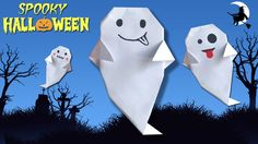Make Paper Ghost for Halloween 👻👻 Easy DIY Paper Crafts Halloween Paper Crafts, Halloween Activities, Halloween Decorations, Halloween 2019, Spooky Halloween, Halloween Playlist, Gifts For Your Boyfriend, How To Make Paper, Craft Videos