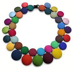 Image of COLLIER PASTILLES multicolore