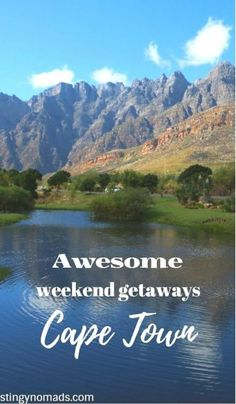 Best weekend escapes from Cape Town - Stingy Nomads Cape Town, Paises Da Africa, South Africa, Safari, Travel Guides, Travel Tips, Travel Plan, Travel Advice, Best Weekend Getaways