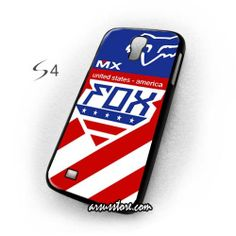 Fox MXON Foxhead Division United States Jersey Samsung Galaxy Case , Samsung Galaxy S4 Case, S3 Case