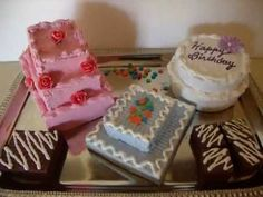 """How To Make- Birthday Cake for 18"""" Dolls"""