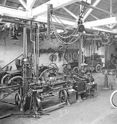 A Garage & Machine Shop