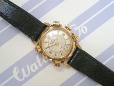 Unusual Gold Plated Ladies Watch