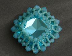Sidonia's handmade jewelry - How to bezel a 23mm Swarovski square cabochon - http://videos.silverjewelry.be/handmade-jewelry/sidonias-handmade-jewelry-how-to-bezel-a-23mm-swarovski-square-cabochon/