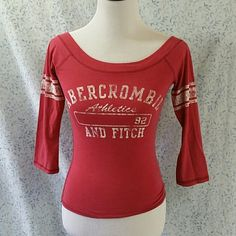 Abercrombie & Fitch too Good condition. Distressed look. Abercrombie & Fitch Tops