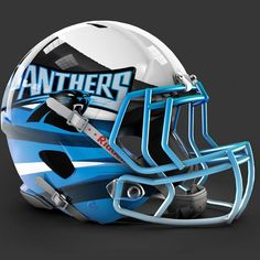 Carolina Panthers alt helmet design