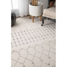 You'll love the Olga Gray Area Rug at AllModern - With Great Deals on modern Décor  products and Free Shipping on most stuff, even the big stuff.
