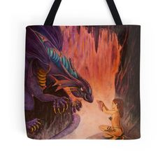 Dangerous Offering For sale on a tote bag! Find it now on REDBUBBLE.COM