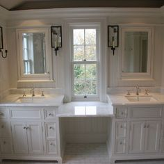 Bathroom White Molding Design, Pictures, Remodel, Decor and Ideas - page 7