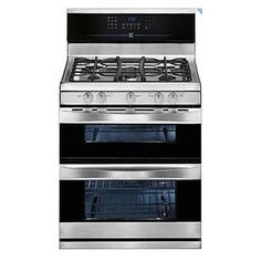 Love our new house and kitchen so much, but... I'm soo pining for my old gas range. Sigh! I'm saving my pennies and dreaming of getting gas!