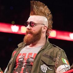 wwe Happy birthday to the Wwe Sheamus, Wwe Total Divas, Celtic Warriors, John Cena, Wwe Wrestlers, Bearded Men, Actors & Actresses, Mens Sunglasses, Wrestling