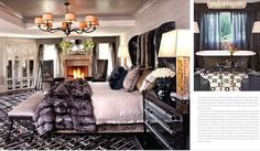 Kris Jenners House Great 22 Master Suite Designed By @JeffAndrewsDsgn | Kris Jenner's House