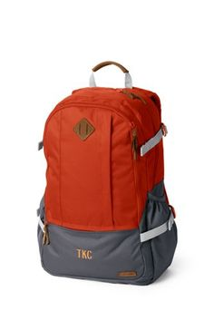 Boys+Campus+Zip-top+Backpack+from+Lands +End · Back To SchoolTop  BackpacksBoysGiftsZipBaby BoysPresentsKidsEntering School 045eeae1f00fb