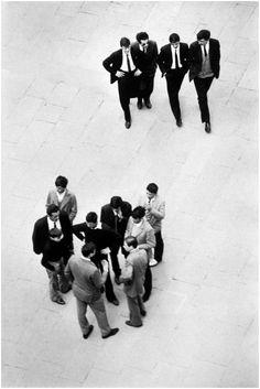 Bruno Barbey - Jóvenes de los 60, Italia