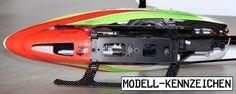 Feuerfeste Kennzeichnungsschilder für RC Modelle