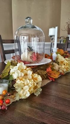Raising May Flowers: A Table Set For Fall