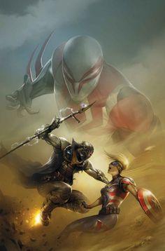 Spider-Man 2099 #4 by Francesco Mattina *