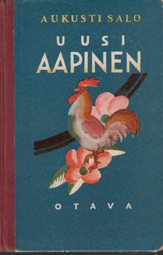Old Finnish children's Alphabet.