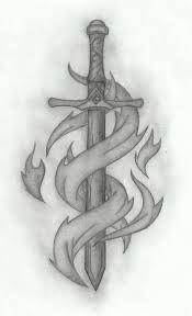 celtic sword tattoo on forearm - Google Search
