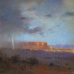 Mesa Rainstorm by Tom Perkinson