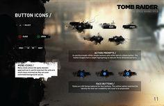 TOMB.RAIDER.UI + IDENTITY DESIGN // on Behance