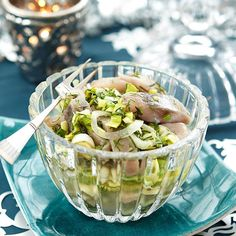 Pasta Salad, Potato Salad, Nom Nom, Cabbage, Lemon, Healthy Recipes, Healthy Food, Fish, Baking