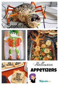 The Best Halloween Appetizers! Check out these 35 Ways to Make Your Halloween Party Food Ghoulish. {incredible!}