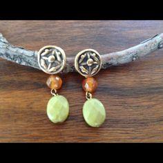 Bohemian chic jewelry Boho earrings NWOT never worn Jewelry Earrings