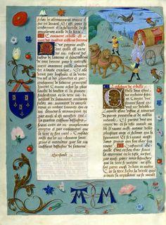 Examples of wagons and carriages: Cybèle, déese de la terre. Evrart de Conty, Le Livre des échecs amoureux. Peint par le Maître d'Antoine Rollin.Flandres, XVe siècle. Manuscrit sur parchemin. BNF, Manuscrits (Fr. 9197 fol. 176v)