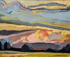 """z cyklu """"za słońcem"""" """"behind the sun"""" series #art #artist #landscape #sunset #colour #expressionism #contemporary #paint #painting #modernart #exhibition #nature #nature_obsession_landscapes #natureart #sunporn #sky #instaart #artoftheday #myart #mymood #sun #gallery #color #light #małgorzata_kapłan_art by margo_kaplan"""