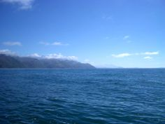 New Zealand, blue light