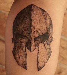spartan helmet tattoo - Google Search