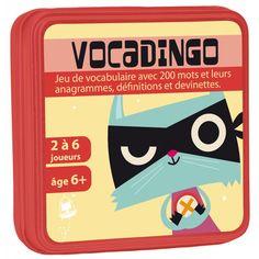 Enrichissez votre vocabulaire tout en jouant, un cadeau ludique et pédagogique