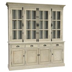 The Windsor Hutch Cabinet will have room to accomodate just about anything you…