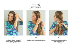 10 Quick Ways to Style Long & Short Hair #theeverygirl