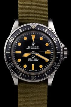 """Rolex The Double Reference """"Military"""" Submariner 5517"""